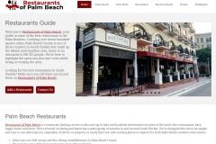 Restaurants of Palm Beach