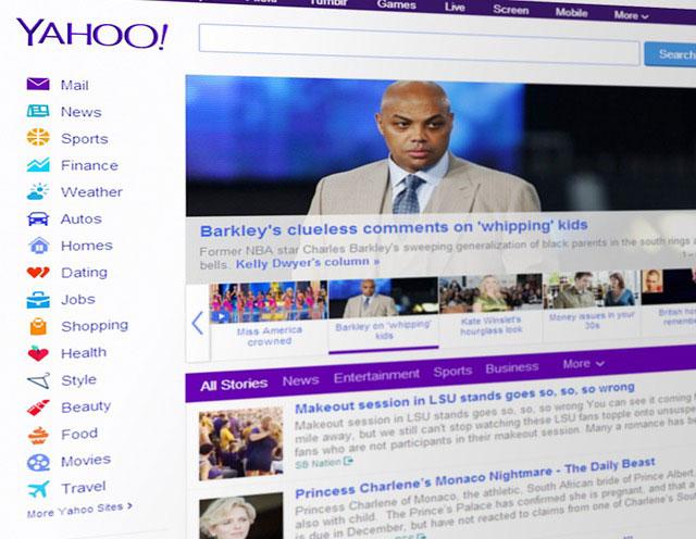 Bing and Yahoo