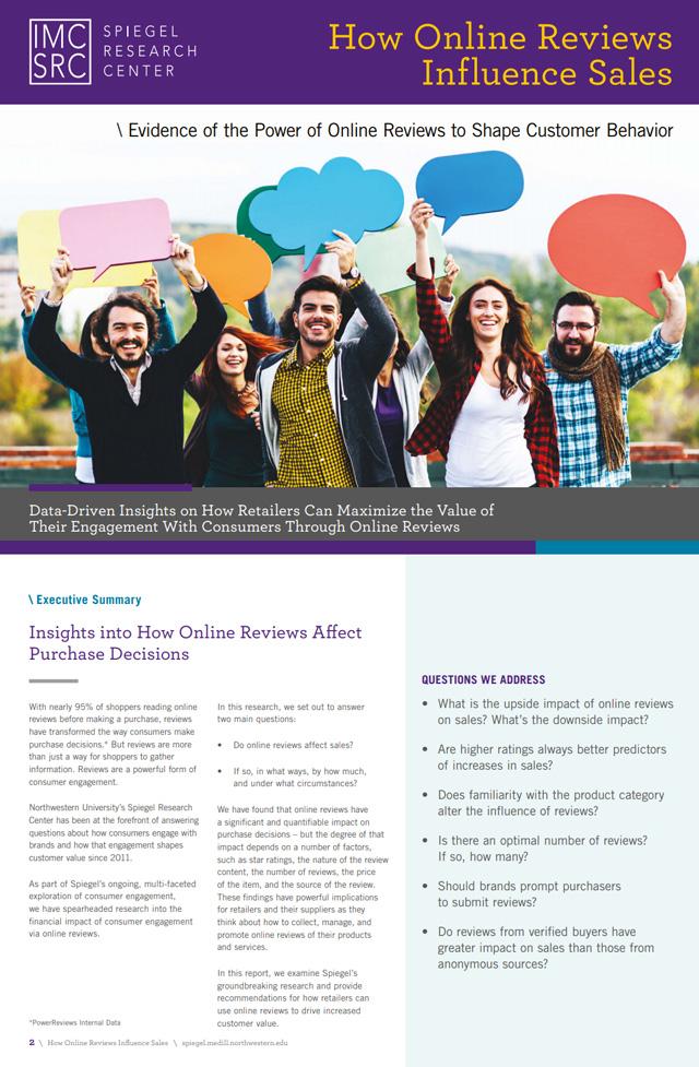 Improve Customer Reviews